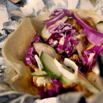Korean Fusion Taco by Good Karma Kitchen!