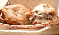 Fried mini cinnies via Tough Cookie Bakery!