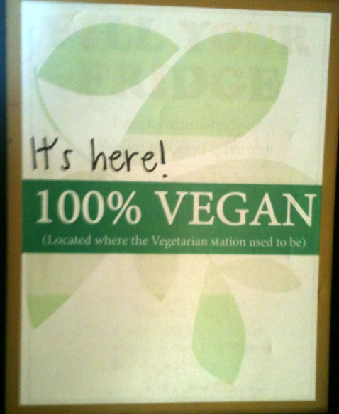The Vegan Line is here! Or is it...?