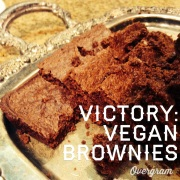 Vegan Brownies at UTA