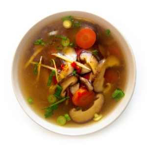 Spicy Healing Ginger Soup