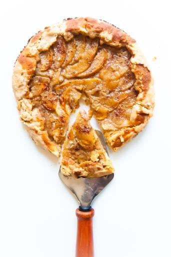 Easy Vegan Apple Galette