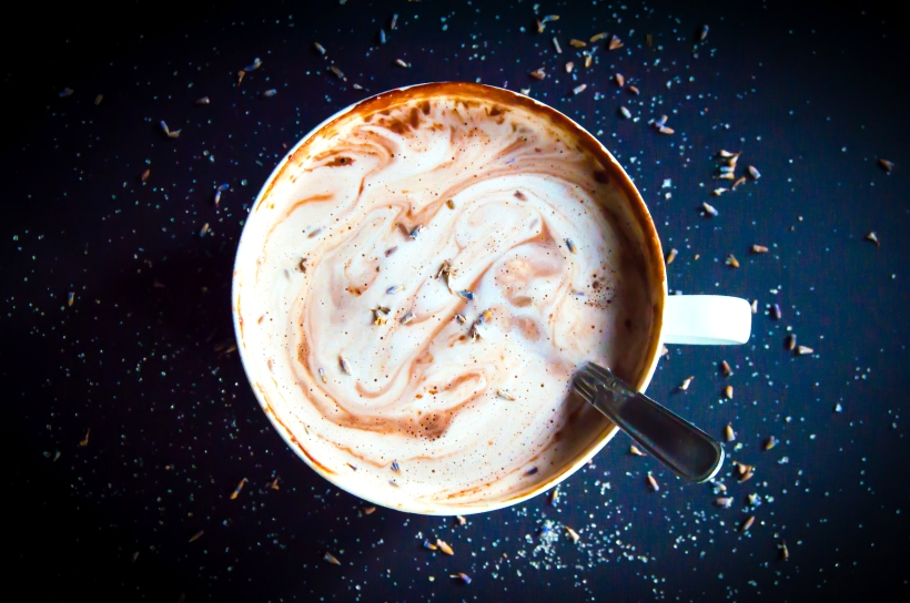 Delicious Lavender Hot Chocolate