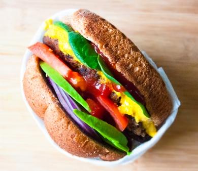 Anderson Cooper's Favorite Vegan Burger // Recipe