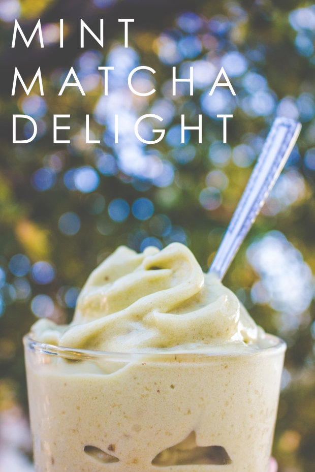 Mint Matcha Nice Cream | plantcrush.co