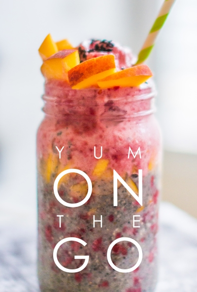 Super Easy Sesame Chia Fruit Parfait | plantcrush.co