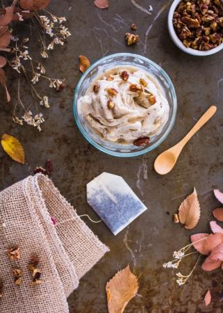 4 Ingredient Chai Latte Ice Cream (Nice Cream) | plantcrush.co