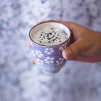 Black Sesame Latte5
