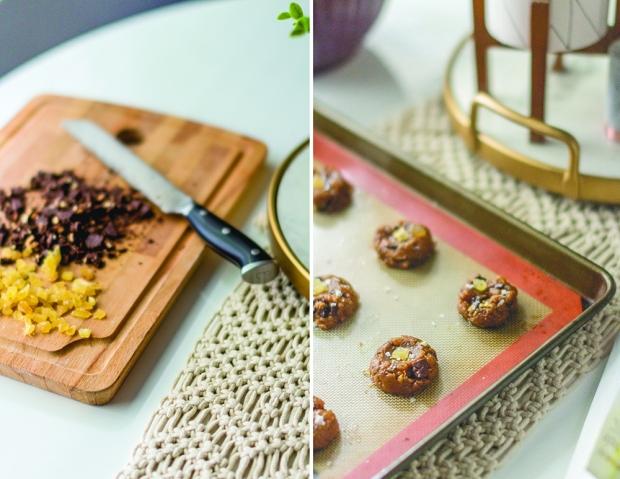 Ginger Chai Chocolate Chip Cookies   plantcrush.co