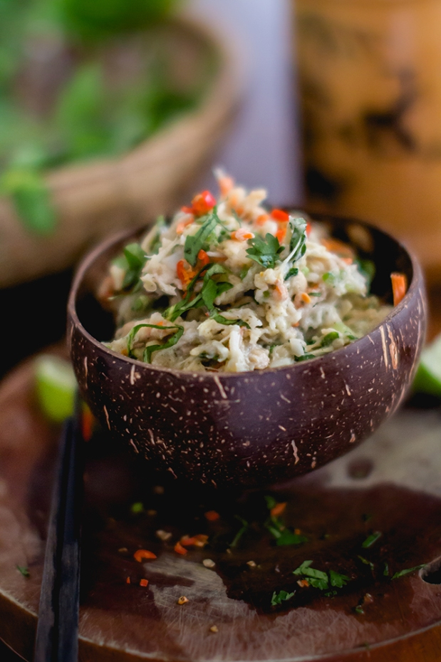 Vietnamese Inspired Mock Tuna Salad | plantcrush.co