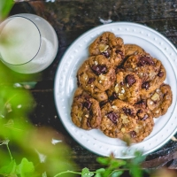 Ginger Chai Chocolate Chip Cookies